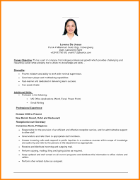 Career Objective Resume Career Objective Resume Examples Unique Job Objective Resume Of