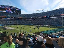 Bank Of America Stadium Section 105 Row 18 Seat 15