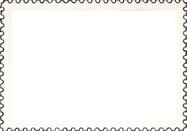 Stamps Template Postage Stamp Clipart Seal Black Text Transparent Clip Art