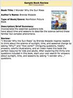 build a booklist your guide to introducing books about sunlight  book review sample