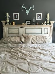 white painted headboard pertaining to best 25 antique door headboards ideas on decor 19