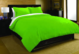 image of lime green bedding sets
