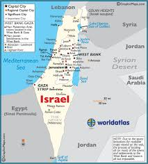 israel large color map Israel In The World Map Israel In The World Map #16 israel world map