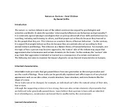 child essay nature versus nurture nurture essay nature nurture biology