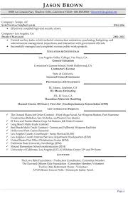 Facility Manager Resume Samples Management Resume Examples Resume Professional Writers