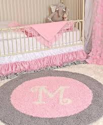 round rugs for nursery pink and gray rug home design ideas pictures girl nursery rugs australia