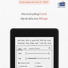 ️ NEW 100% - SEAL ️ Máy đọc sách Amazon Kindle Paperwhite 4 (thế hệ thứ 10  - 8/32GB) ️ Kèm phụ kiện giá sốc ️ giá cạnh tranh