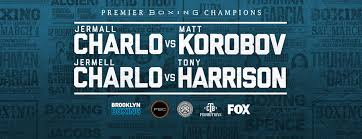 Barclays Center Boxing Seating Chart Premier Boxing Champions Jermall Charlo Vs Matt Korobov