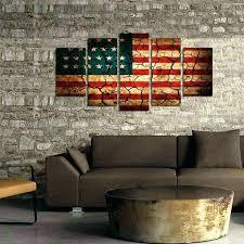 patriotic wall art flag tag arts ed look canvas the force gallery outdoor rustic patriotic wall art