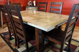 concrete dining table. Concrete, Concrete Dining Table, Project Table