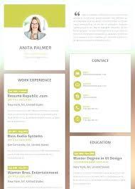 Resume Templates Online Interesting Online Resume Template Sam 40 Online Resume Templates For Freshers