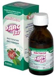 <b>Эдас</b>-<b>127 Мастиол</b>, <b>капли</b> для приема внутрь гомеопатические ...