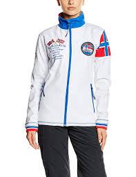 Amazon Com Nebulus Softshell Jacket Maverik Women White