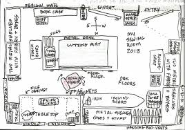 Great Ideas For Sewing Room Layouts  Sewing Room Organization Sewing Room Layouts And Designs