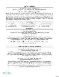 Medical Billing And Coding Job Description Interesting Medical Coder Resume Example Job Description Medical Billing And