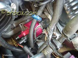4th gen lt1 f body tech articles put the coil wire back on reassemble your intake parts plug your maf back in and you re done msd 6a harness