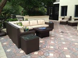magnificent patio furniture with gas fire pit table and outdoor furniture set with gas fire pit