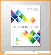 8 Free Report Cover Page Template Download Shrewd Investment