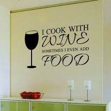 9346 home decor diy wine a bit letters quote pvc wall art sticker dinning