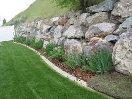 calm rock garden ideas that will put your backyard on map wall designs rock wall garden