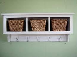 Coat Rack With Baskets Coat Racks marvellous cubby coat rack Cubbie Shelf With Hooks 90