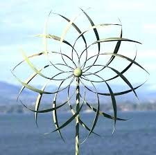 metal wind spinner garden stake spinners for the are r metal wind spinners large garden diy