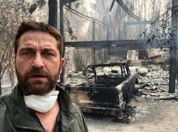 كاليفورنيا - مشاهير يهجرون منازلهم هربا من حريق الغابات