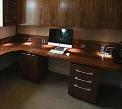 walnut home office furniture. Fine Home Bespoke American Black Walnut Home Office And Study Feature With Furniture L