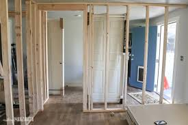 Image Basement Keep Reading If You Are Going To Be Framing Door In Your Interior Wall Making Manzanita How To Build Wall Part framing Door Making Manzanita