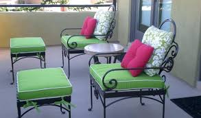 green wicker chair cushions image of wrought iron outdoor furniture patio hunter green patio chair cushions