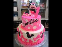 Minnie mouse cake decorations ideas