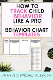 Examples Of Behavior Charts For Home Behavior Charts How To Easily Track Behavior Like A Pro