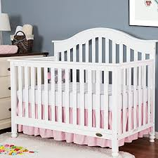 tillyou solid crib bed skirt dust