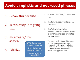 essay writing skills to get b a in an essay you are required to 3 avoid simplistic