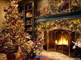 48+] Christmas Live Fireplace Wallpaper ...