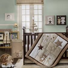 teddy bear crib bedding sets boys awesome baby bear is the perfect gender neutral nursery collection