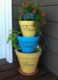 painting images on decorating terracotta pots awesome 123 best terracotta pots images on