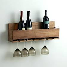 wall mounted wine and glass rack wall mounted wine glass rack plans wall mounted wine glass
