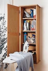 Fine Ironing Board Furniture Ironingboard Hideaway Woodworking Plan Cabinets Storage On Perfect Design