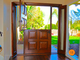 front doors with side windowsFiberglass Front Doors With Sidelights Aurora Estate Half Door