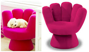 chair design. LumiSource Pink Mitt Chair Design N