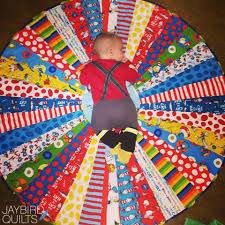 Circle Quilt Patterns Amazing Circle Quilt Tutorial Jaybird Quilts