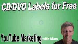 How To Make Cd And Dvd Labels For Free Youtube