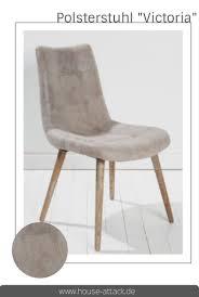 Echtleder Stuhl Grau Retro Look Designerstuhl Loungestuhl