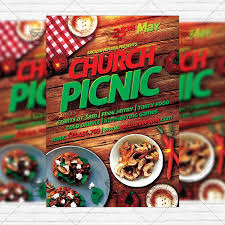 Picnic Flyers Church Picnic 2 Premium Flyer Template Instagram Size Flyer