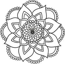 Small Picture 3814 best geometric mandala patterns images on Pinterest