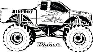 Monster Truck Coloring Page Monster Trucks Coloring Sheets Blaze