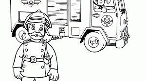Kleurplaat Sam De Brandweerman Kleurplaatjenl