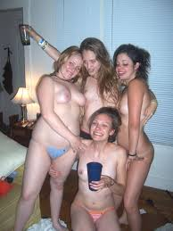 Nude amateur party girls