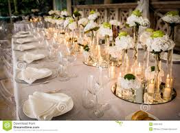 Wedding Reception Tables Stock Photography Image 29937492